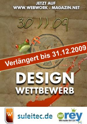 Wordpress Design Wettbewerb vom Webwork Magazin